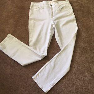 DKNY White Jeans 12x30